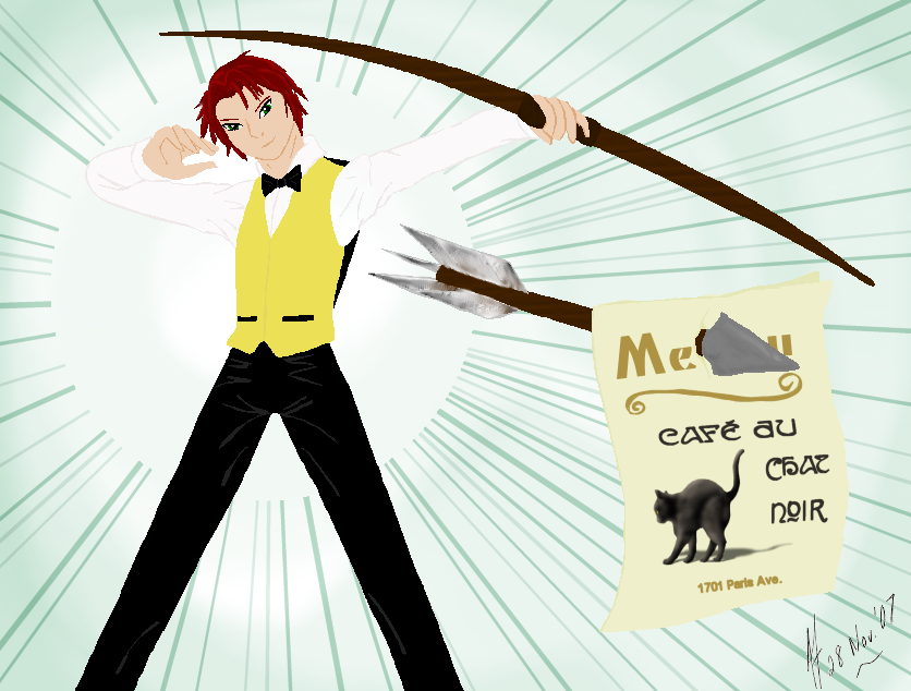 Archer-boy by jacquelynvansant