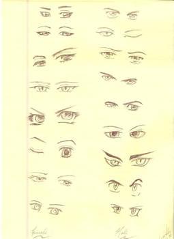 Study - Eyes 2