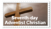 Seventh-day Adventist Stamp by jacquelynvansant