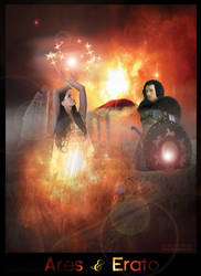 Request by Cat2000 - Ares and Erato by jacquelynvansant