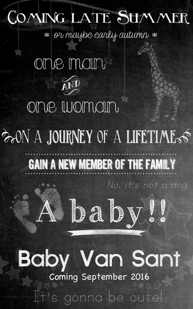 3-1-2016 Baby Announcement by jacquelynvansant