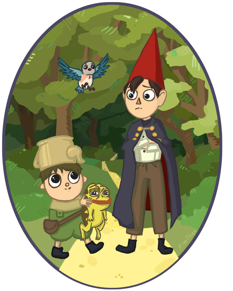 Over The Garden Wall by RionChaw
