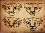 Cub Zira Sketches