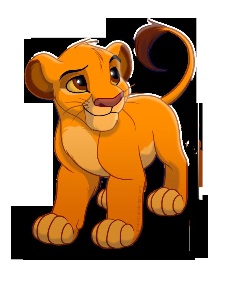 Cute Simba by EmilyJayOwens