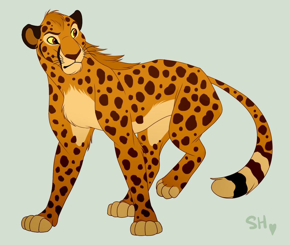 Wind The Cheetah by ShimiArt