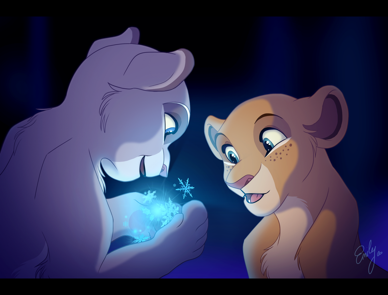 do_the_magic____elsa_and_anna_by_shimiart-d7i3o24.png