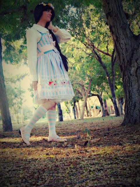 walking in the forest by sebasmermaid