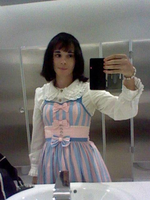 new hair selfie by sebasmermaid