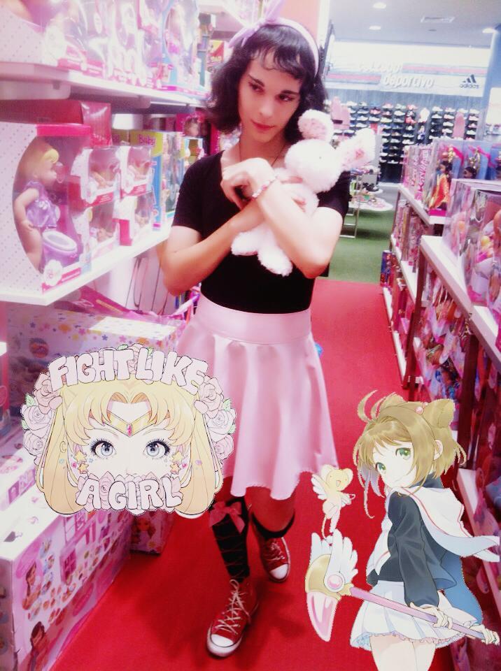 sakura fight like a girl by sebasmermaid