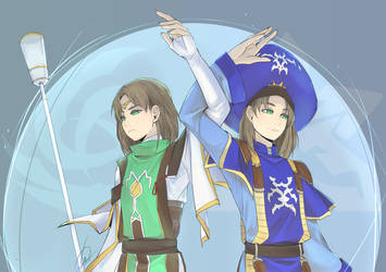 Suikoden 2 - Double by betsuni