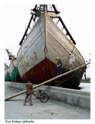 Sunda Kelapa Harbour Jakarta by Peacefull