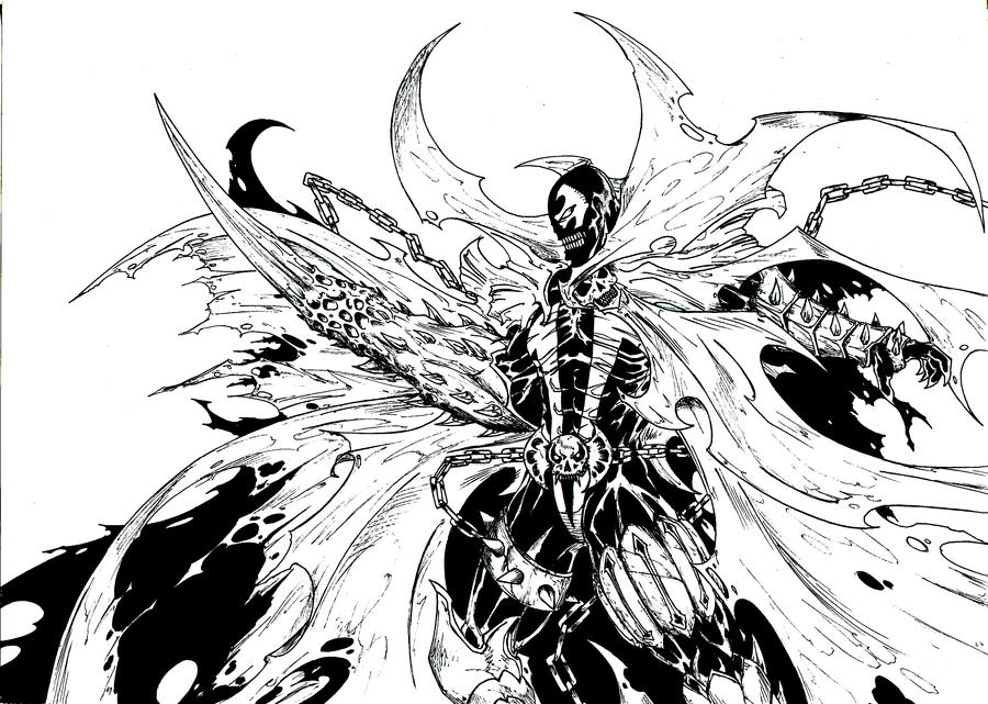 Ghost Rider Coloring Pages #9