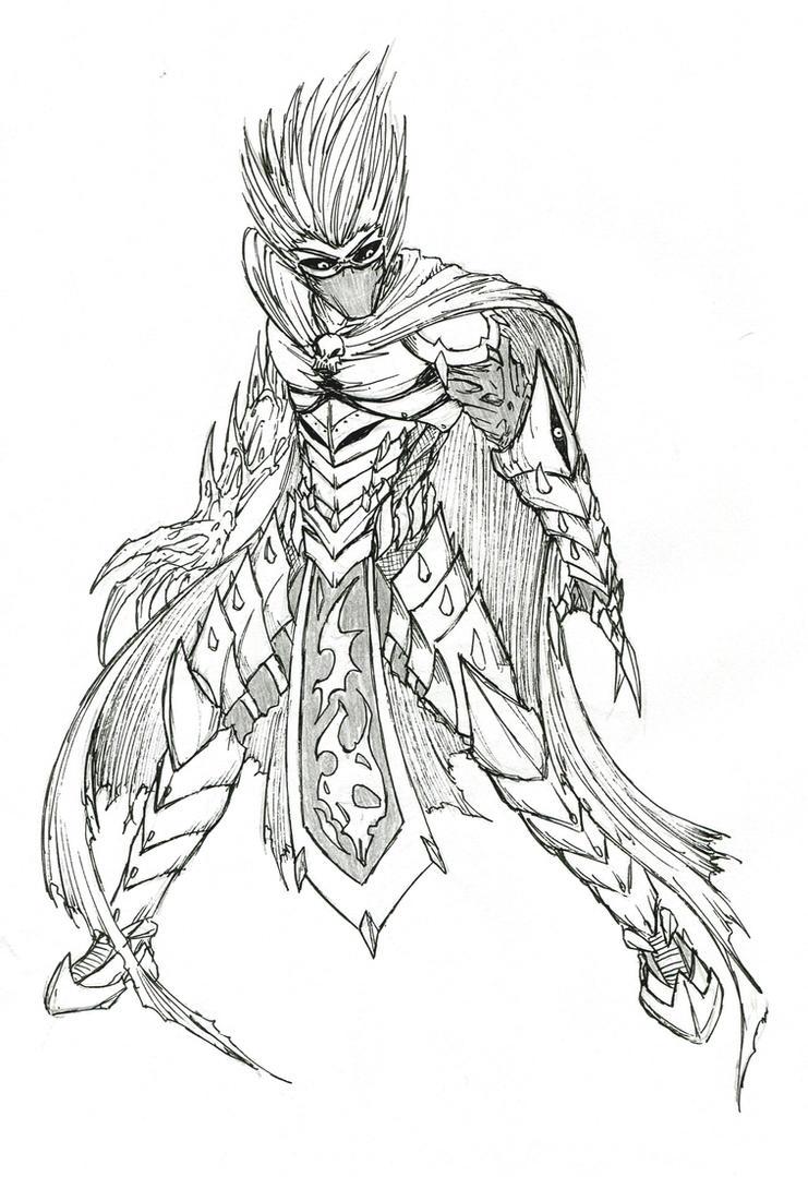 the white demon knight - photo #22