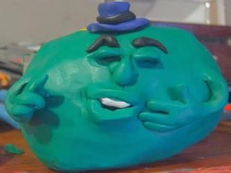 Don Carlson animation - green character