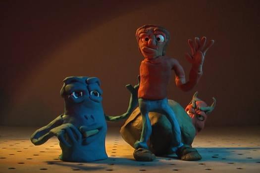 Don Carlson Animation - clay friends