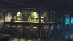 Motel bar