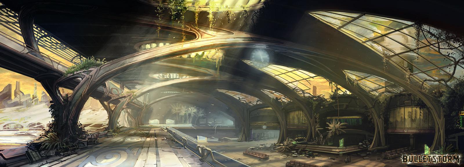 Spaceport by M-Wojtala