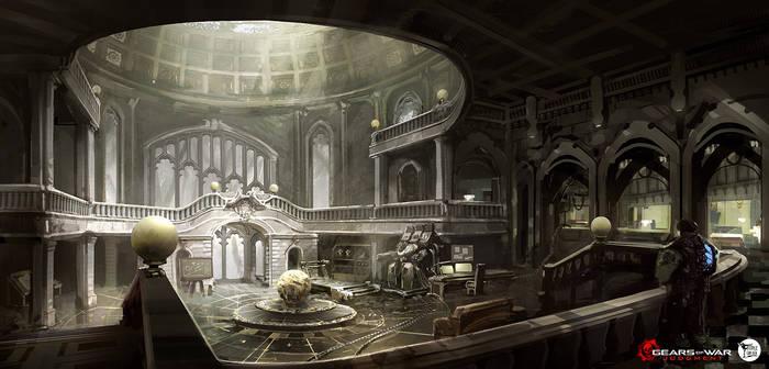 Cyber House interior