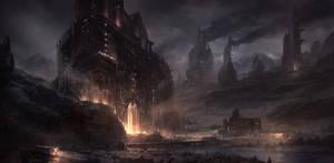 Evil Fortress by M-Wojtala