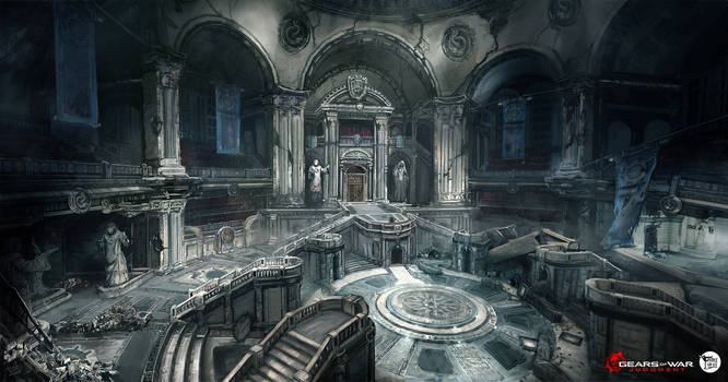 Courtroom by M-Wojtala