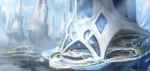 Skyscraper concept by M-Wojtala