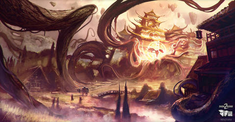 Shadow Warrior 2 | Shadow World merge concept