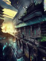 Shadow Warrior 2 : Cyber City by M-Wojtala