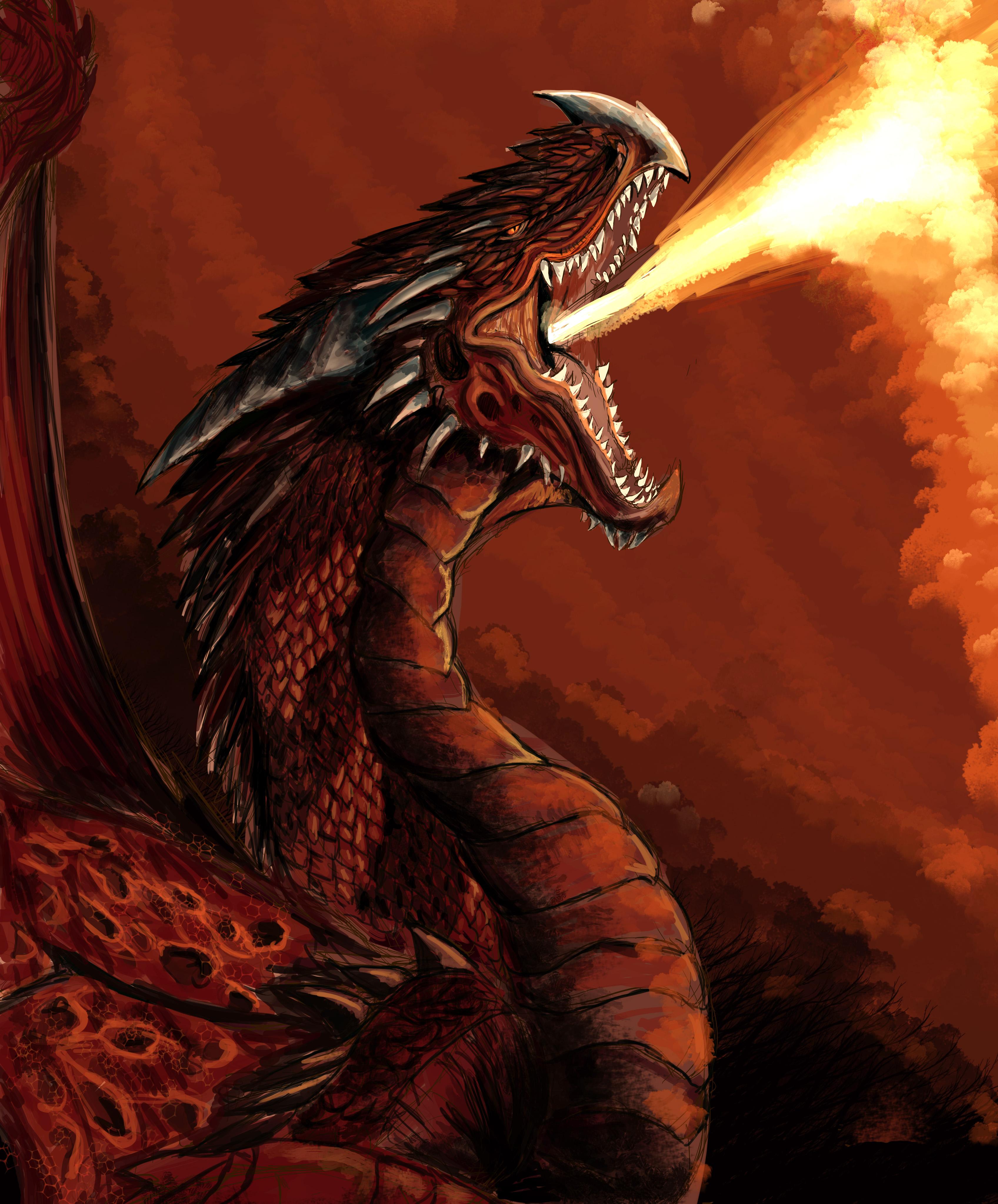 Good male fire dragon names?