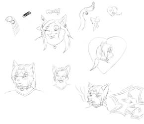 Kitty Doodles by my Love