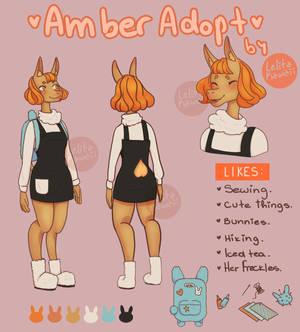 Adopt - Amber the Llama
