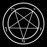 Baphomet's pentagram -vector, 4K-