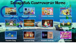 SpongeBob SquarePants Controversey Meme
