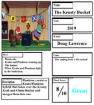 Pros and Cons - The Krusty Bucket