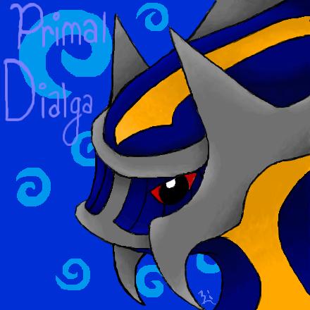 Primal Dialga by CresentShadow on DeviantArt