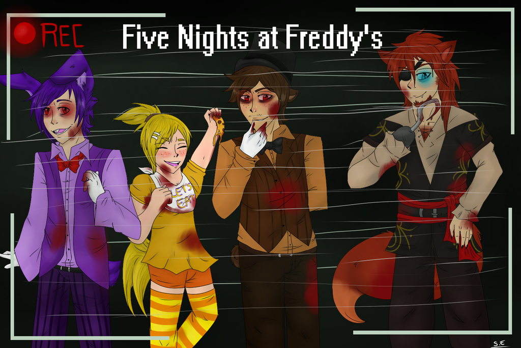 Five Nights at Freddy's by SidStraws