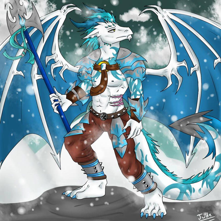 Commission - Warrior of the mountains by SidStraws