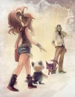 Pokemon BW - First Encounter (white) by papelmarfil