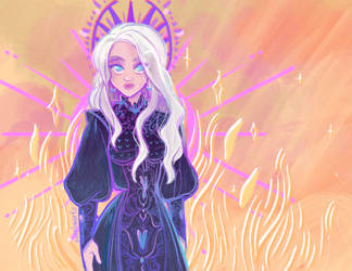 Game of Thrones - Daenerys by papelmarfil