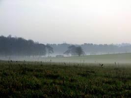 misty landscape 2 by smevstock