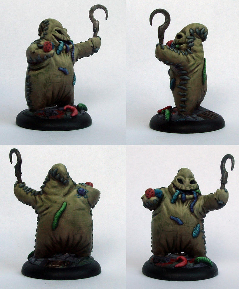 Oogie Boogie Art Oogie Boogie Sculpture by