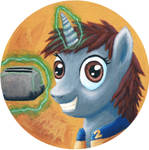 Littlepip the toaster repair pony