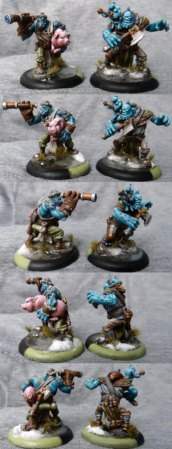 Trollkin Scouts by DaOldHorse