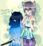 {Gift} Shi and Aoi o3o