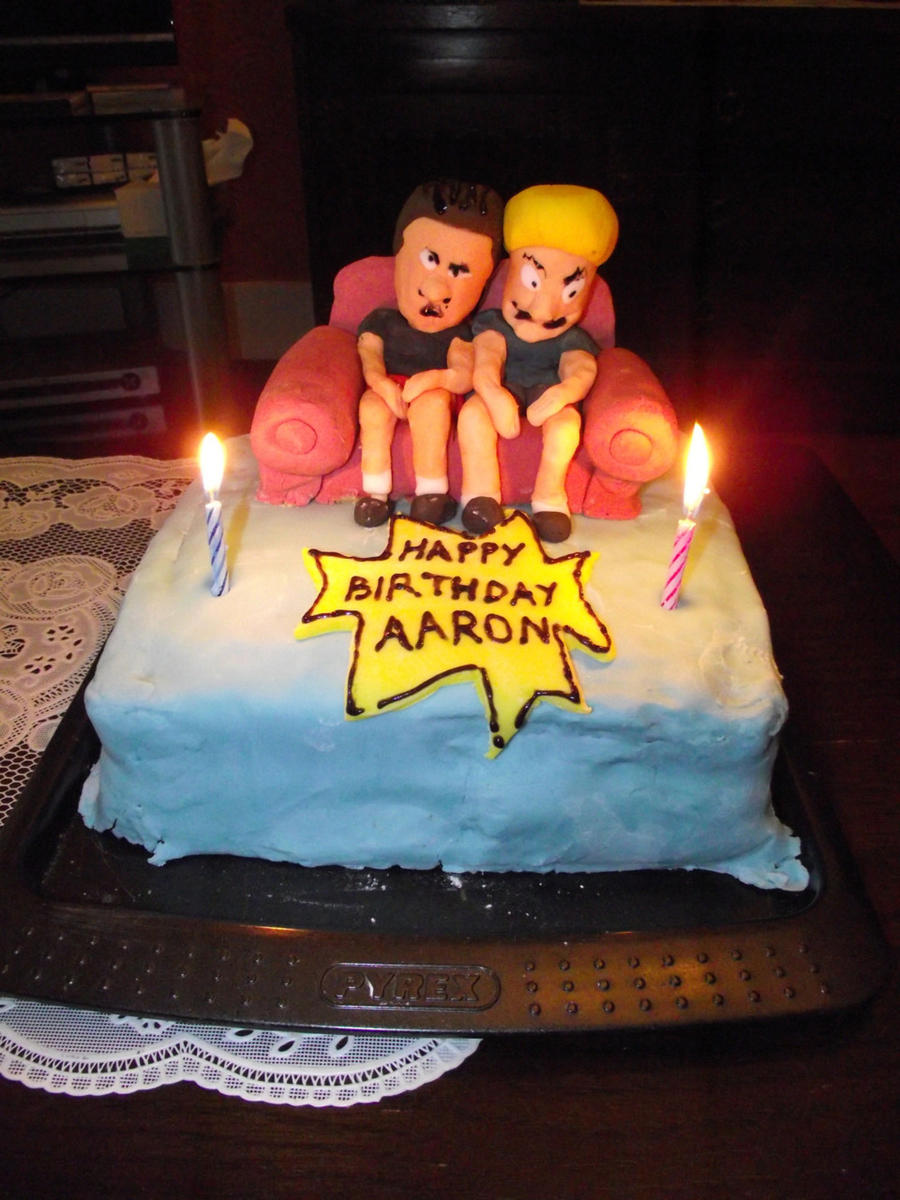 Beavis And Butthead Cake By Mabletherabbid On Deviantart