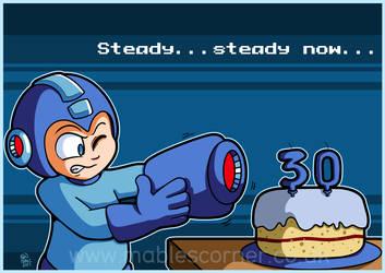 Megaman's 30th birthday