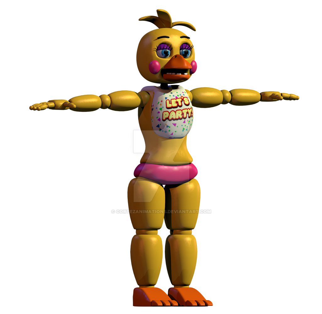 Thicc Toy Chica V Anime Toy Chica Sfm Toy Chica V4 Collection 14 Wallpapers Commission For