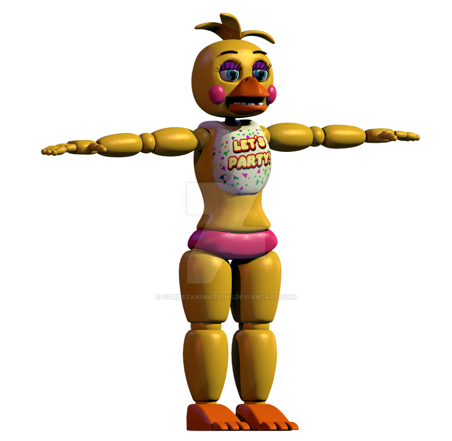 Chica Toy Chica Favourites By Goldenafro On Deviantart: [Progress] Toy Chica WIP 4 By CortezAnimations On DeviantArt