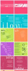 Puzzles Of Life - Booklet by Kiyoshi-Jiro