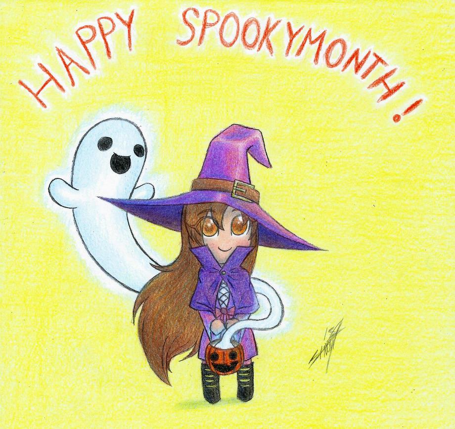 Ooky Spookymonth by NightShadow154