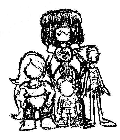 Bored at School Art: The Clod Team by NightShadow154
